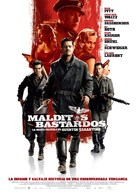 Inglourious Basterds - Spanish Movie Poster (xs thumbnail)