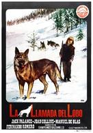 Il richiamo del lupo - Spanish Movie Poster (xs thumbnail)