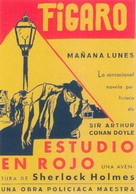 A Study in Scarlet - Spanish Movie Poster (xs thumbnail)