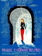 Pigalle-Saint-Germain-des-Prés - French Movie Poster (xs thumbnail)