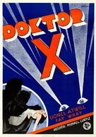 Doctor X - Swedish Movie Poster (xs thumbnail)