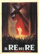 The King of Kings - Italian Movie Poster (xs thumbnail)
