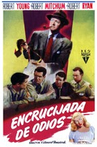 Crossfire - Spanish Movie Poster (xs thumbnail)