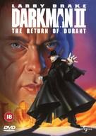 Darkman II: The Return of Durant - British DVD cover (xs thumbnail)