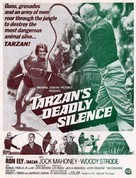Tarzan's Deadly Silence - Movie Poster (xs thumbnail)