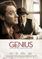 Genius - German Movie Poster (xs thumbnail)