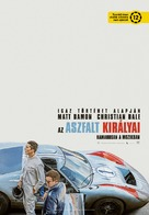 Ford v. Ferrari - Hungarian Movie Poster (xs thumbnail)