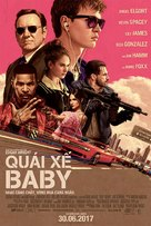 Baby Driver - Vietnamese Movie Poster (xs thumbnail)