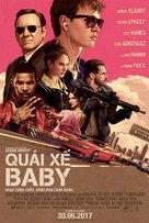 Baby Driver - Vietnamese Movie Poster (xs thumbnail)