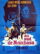 Beyond Mombasa - French Movie Poster (xs thumbnail)