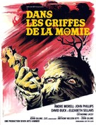The Mummy's Shroud - French Movie Poster (xs thumbnail)