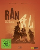 Ran - German Blu-Ray cover (xs thumbnail)