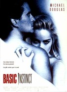Basic Instinct - French Theatrical movie poster (xs thumbnail)