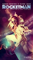 Rocketman - Norwegian Movie Poster (xs thumbnail)