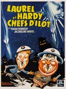 Air Raid Wardens - French Movie Poster (xs thumbnail)