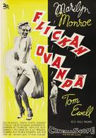 The Seven Year Itch - Swedish Movie Poster (xs thumbnail)