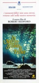 A River Runs Through It - Italian Movie Poster (xs thumbnail)