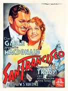 San Francisco - French Movie Poster (xs thumbnail)
