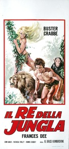 King of the Jungle - Italian Movie Poster (xs thumbnail)