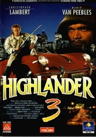 Highlander 3 - Italian Movie Cover (xs thumbnail)
