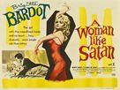 La femme et le pantin - British Theatrical poster (xs thumbnail)