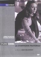 La symphonie pastorale - French DVD cover (xs thumbnail)