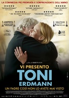 Toni Erdmann - Italian Movie Poster (xs thumbnail)