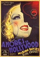 Going Hollywood - Spanish Movie Poster (xs thumbnail)