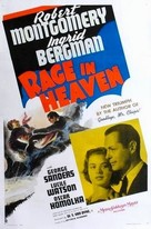Rage in Heaven - Movie Poster (xs thumbnail)