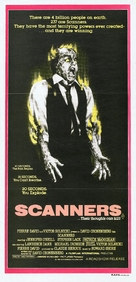 Scanners - Australian Movie Poster (xs thumbnail)