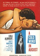 A Cold Wind in August - poster (xs thumbnail)