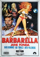 Barbarella - Turkish Movie Poster (xs thumbnail)