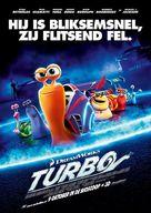 Turbo - Dutch Movie Poster (xs thumbnail)