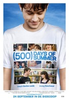 (500) Days of Summer - Dutch Movie Poster (xs thumbnail)