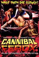 Cannibal ferox - DVD movie cover (xs thumbnail)