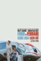 Ford v. Ferrari - Vietnamese Movie Poster (xs thumbnail)