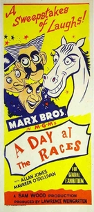 A Day at the Races - Australian Movie Poster (xs thumbnail)