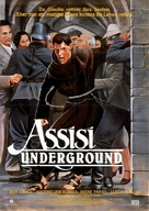 The Assisi Underground - German Movie Poster (xs thumbnail)