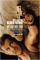 Blood Father - Vietnamese Movie Poster (xs thumbnail)