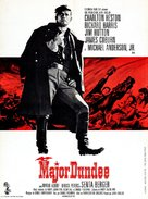 Major Dundee - French Movie Poster (xs thumbnail)