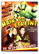 The Amazing Exploits of the Clutching Hand - Belgian Movie Poster (xs thumbnail)