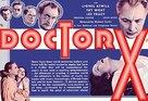 Doctor X - British Movie Poster (xs thumbnail)