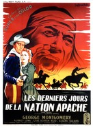 Indian Uprising - French Movie Poster (xs thumbnail)