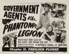 Government Agents vs Phantom Legion - Movie Poster (xs thumbnail)