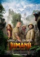 Jumanji: The Next Level - Swedish Movie Poster (xs thumbnail)