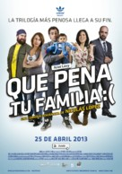 Qué pena tu familia - Peruvian Movie Poster (xs thumbnail)