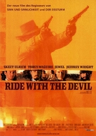 Ride with the Devil - German Movie Poster (xs thumbnail)