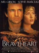 Braveheart - Spanish Movie Poster (xs thumbnail)