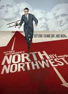 North by Northwest - DVD movie cover (xs thumbnail)