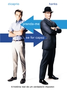 Catch Me If You Can - Brazilian DVD movie cover (xs thumbnail)